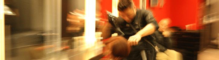 """Franck Angellini hairteam in actie"""